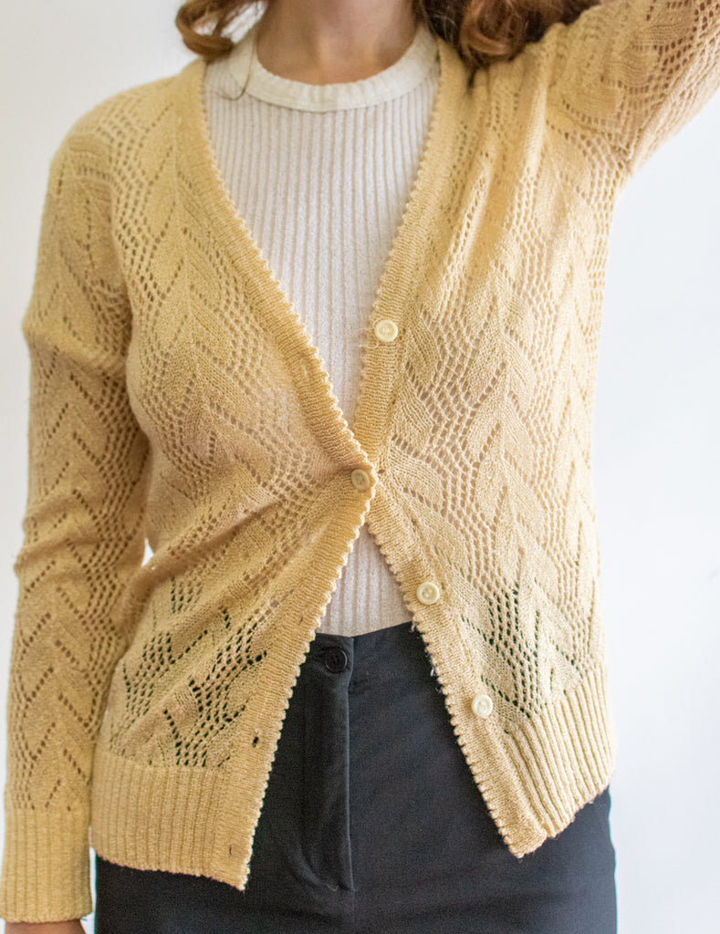 Beige Knitting coat - super cute