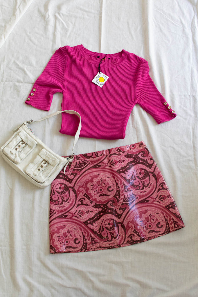 Dolce & Gabanna Pink Vintage Skirt - new condition