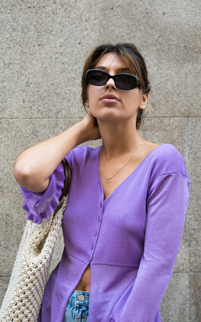 Vintage Purple Knitwear