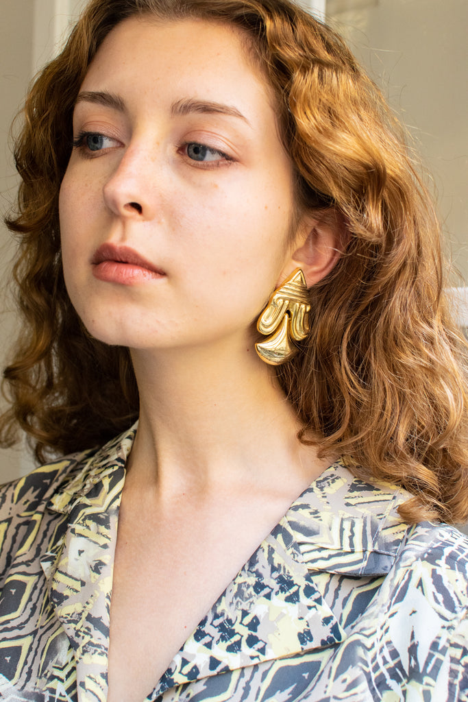 Golden Earrings - rare piece