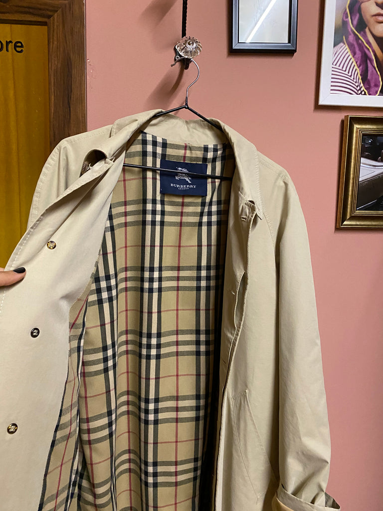 Burberry Parka In Beige - Original!