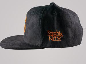The Mighty S Suede Snapback