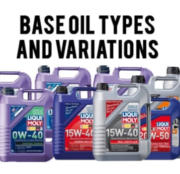 Base Oil Types and Variations