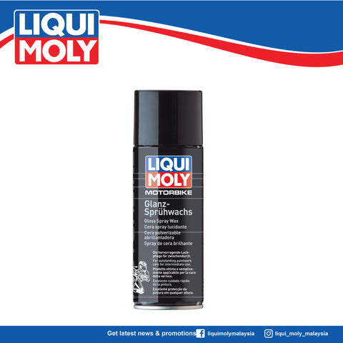 LIQUI MOLY MOTORBIKE GLOSS SPRAY WAX 3039 (400ml)