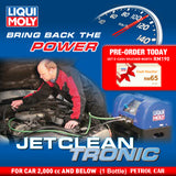 Liqui Moly JetClean Tronic Service (Petrol Car 2,000 cc and Below) Deep Carbon Cleaning Solution