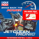 Liqui Moly JetClean Tronic Service (Petrol Motorbike over 700 cc) Deep Carbon Cleaning Solution