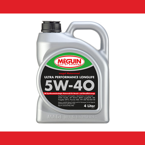 MEGUIN Ultra Performance Longlife SAE 5W-40 (4LITER)-6486