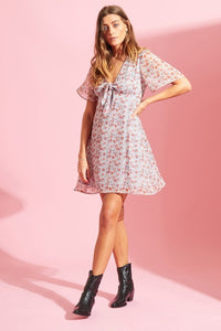 Ditzy tea dress