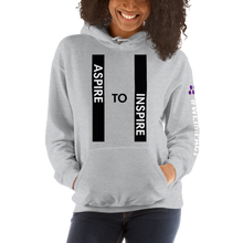 Load image into Gallery viewer, ASPIRE TO INSPIRE | Women's Hoodie