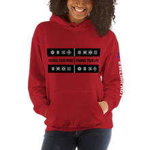 Load image into Gallery viewer, CHANGE YOUR MIND - CHANGE YOUR LIFE | Women's Hoodie