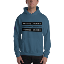 Load image into Gallery viewer, CHANGE YOUR MIND - CHANGE YOUR LIFE | Men's Hoodie
