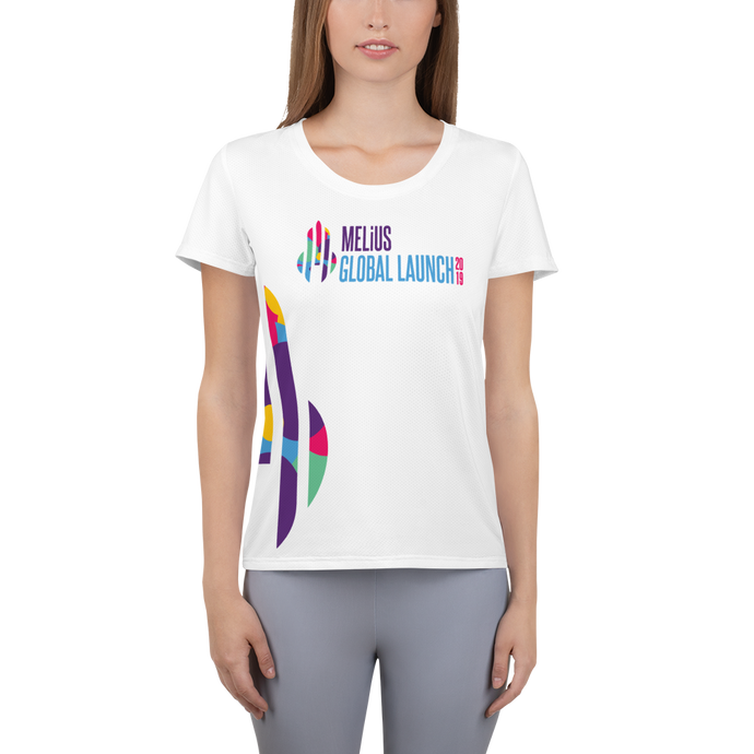 MELiUS Global Launch | Women's Athletic T-shirt