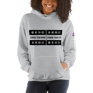 CHANGE YOUR MIND - CHANGE YOUR LIFE | Women's Hoodie