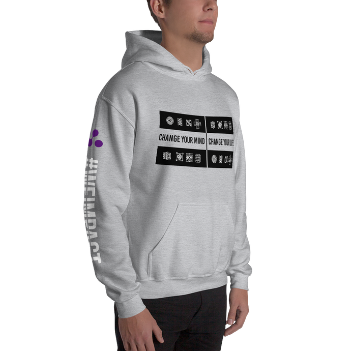 CHANGE YOUR MIND - CHANGE YOUR LIFE | Men's Hoodie