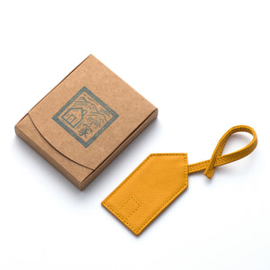 Das Haus Leather Luggage Tag in Gift box