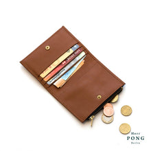 Load image into Gallery viewer, Calf Leather Coin/Card Wallet (L) in Gift Box