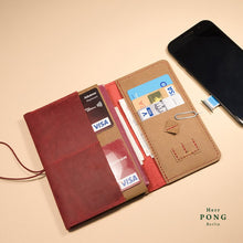 Load image into Gallery viewer, Mitte Collection - Travel Passport Leather Wallet