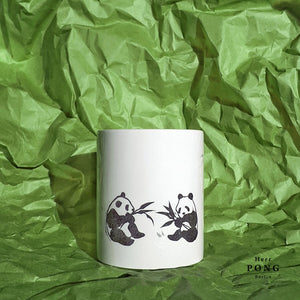 Pandas in the Bamboo Forest Coffee Mug