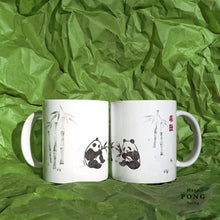 Load image into Gallery viewer, Pandas in the Bamboo Forest Coffee Mug