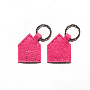 Das Haus Leather Key Ring x 2 Giftset