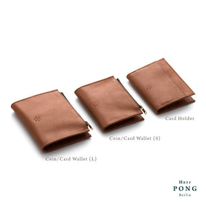 Calf Leather Coin/Card Wallet (S) in Gift Box