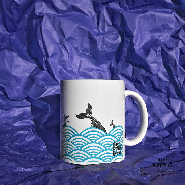 Whales in the Sea Coffee Mug