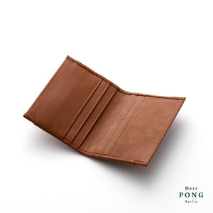 Calf Leather 8 Cards Holder in Gift Box