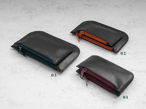 Kayak Collection - Leather Double Pouch 01