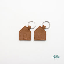 Load image into Gallery viewer, Das Haus Leather Key Ring x 2 Giftset