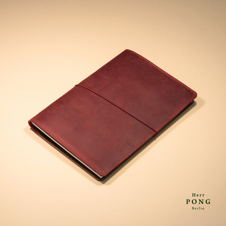 Mitte Collection - A5 Leather Notebook Cover