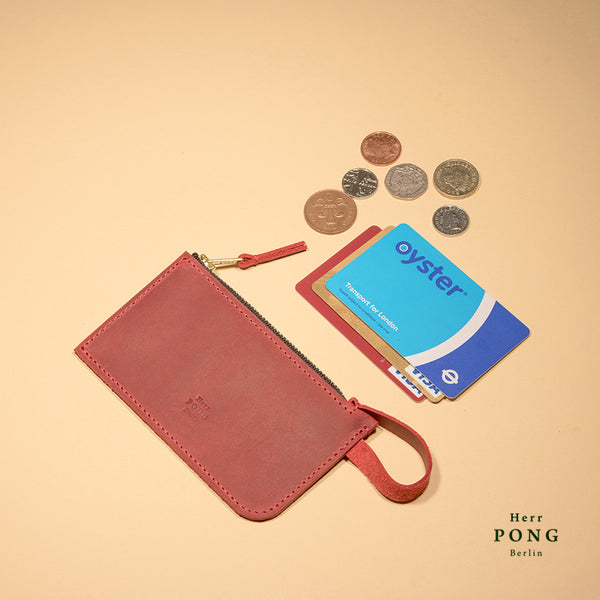 Mitte Collection - Coin/ Card Leather Pouch