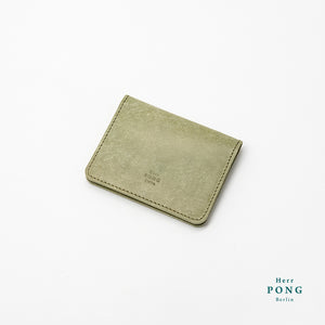 Card Holder (4 cards) in Vegetable Tanned Leather