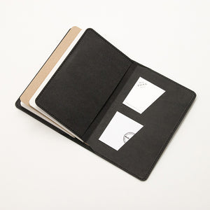 Leather Notebook Cover Black + 2-pack of the original Berlin Notebook gift set
