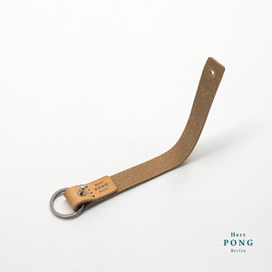 Vegetable Tanned Leather Key strap