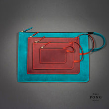 Load image into Gallery viewer, Mitte Collection - A5 Leather Pouch