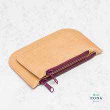 Load image into Gallery viewer, Kayak Collection - Vegetable Tanned Leather Double Pouch 03