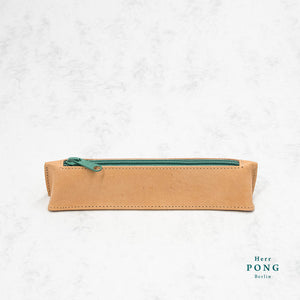 Kayak Collection - Vegetable Tanned Leather Pencil Case S2