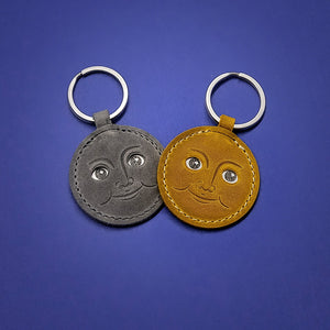 Twin Moon Keychain set