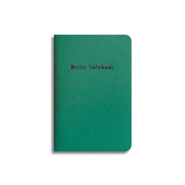Berlin Notebook in Green (2021 Limited Edition)