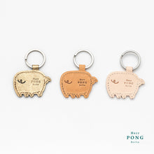 Load image into Gallery viewer, Golden Piggy Keychain