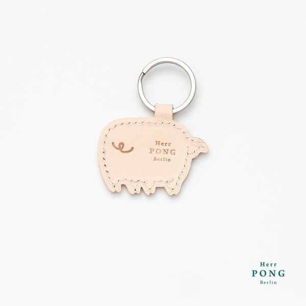 Little White Pig Key holder