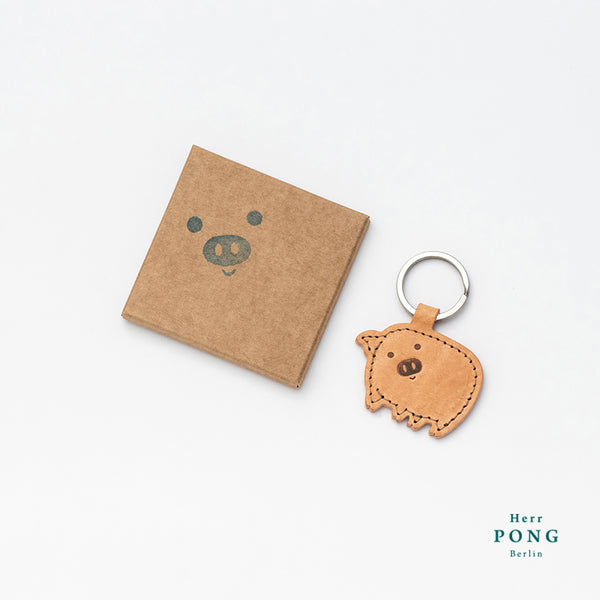 Little Tanned Pig Key holder