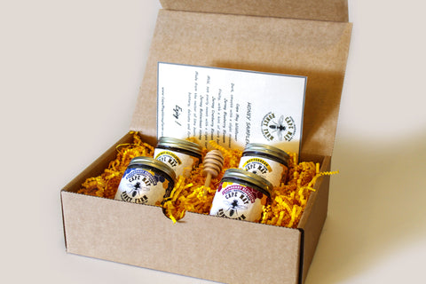 New Jersey Local Honey Sampler 4( 6oz. )