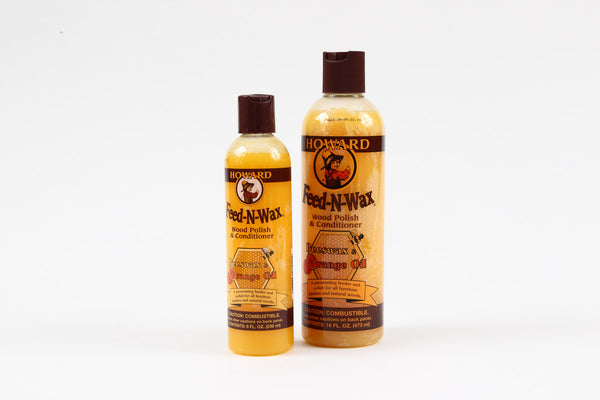 Howard Feed N Wax Wood Polish and Conditioner 16oz.