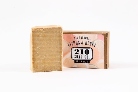 210 Soap Co. Citrus and Honey Soap 4.5oz