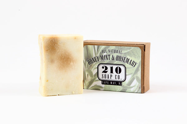 Honeyed Mint and Rosemary Soap 4.5oz