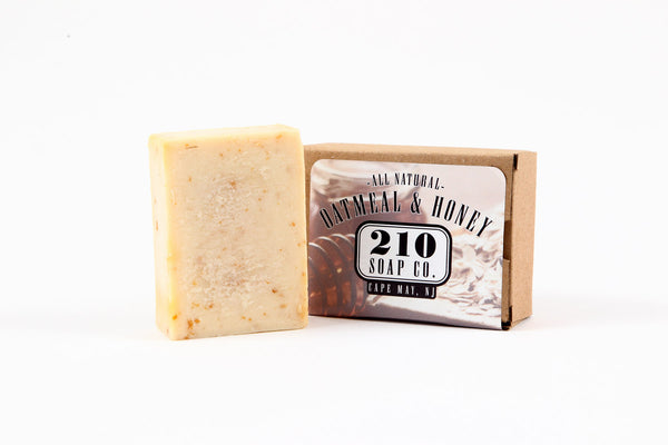 210 Soap Co. Oatmeal and Honey Soap 4.5oz