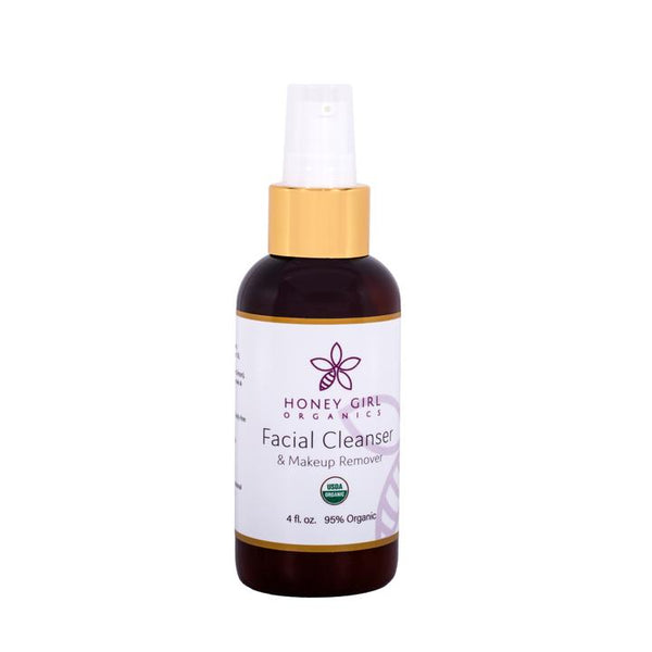 Honey Girl Organics Facial Cleanser and Makeup Remover 4oz