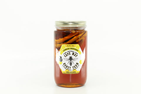Lemon Infused New Jersey Clover Honey 16oz