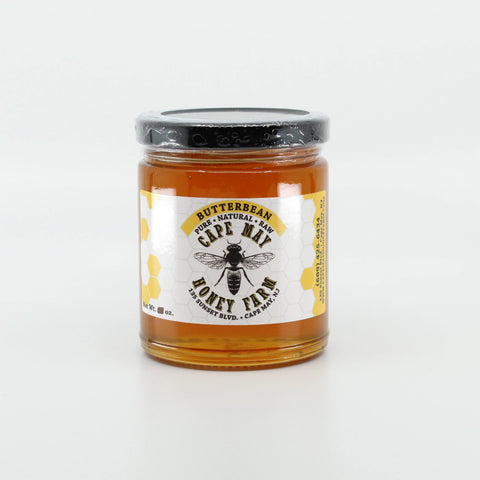 New Jersey Butterbean Honey 12 oz